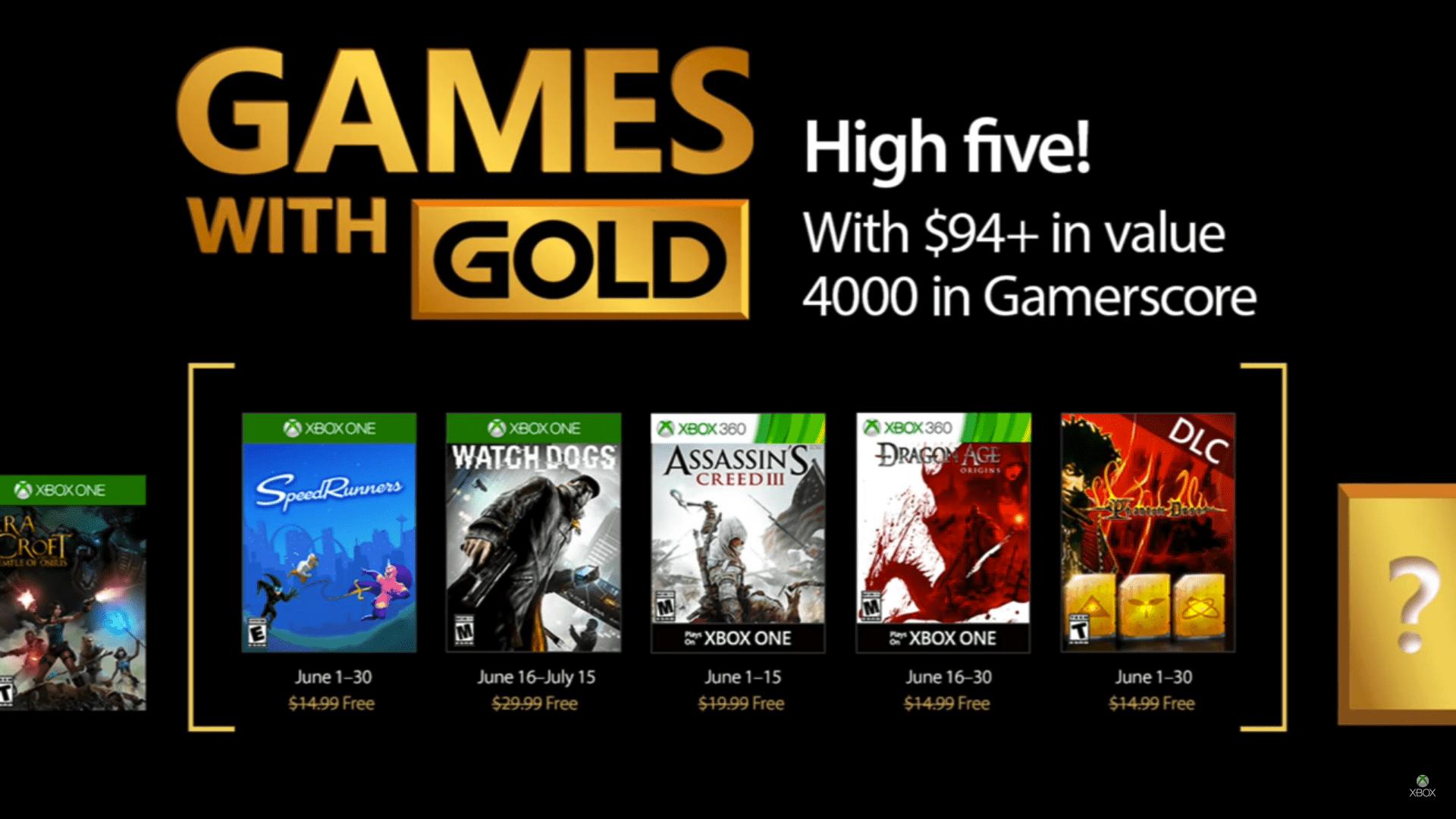 Juegos Gratis Xbox Live Gold Junio 2017 Gamelaks Com